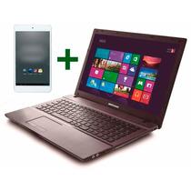 Notebook Bangho Core I3 4gb 15.6 Hdmi + Tablet Gratis