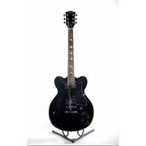 Guitarra Electrica Tipo 335 Parquer Jz100bk Palo De Rosa