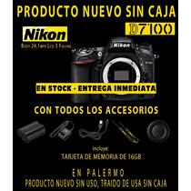 Nikon D7100 Body Nueva Oferta En Stock