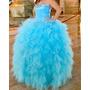 Vestido De 15 Color Turquesa