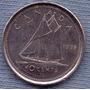 Canada 10 Cents 1998 * Velero *