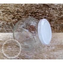 Caramelera Frasco Dos 2 Posiciones Vidrio Para Rellenar