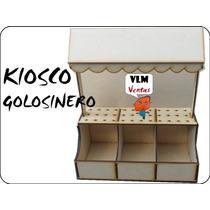 Kiosco Para Cumple Golosinas Candy Bar Fibrofacil