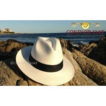 Sombrero Panama Original- Genuino Artesanal De Paja Toquilla