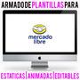 Diseño De Plantillas Para Mercadolibre Animadas!