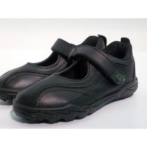 Zapatos Colegial Escolar Guillerminas Nena Eco Cuero Rigazio