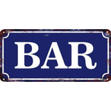 Carteles Vintage Chapa 20x30cm Fábrica A Pedido Bar Se-06