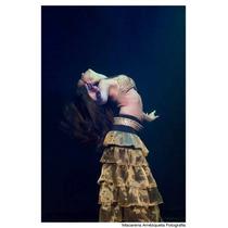 Falda Larga Volados Danza Arabe Belly Dance