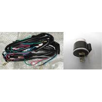 Instalacion Electrica Zanella Sol 70 Con Destellador 12v- 2r