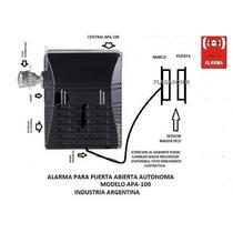 Alarma De Puerta Abierta Sin Cable Pi 9v Temporiz Saavedra