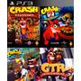 Crash Bandicoot Ps3 Digital   Incluye 4 Juegos De Crash