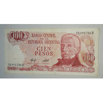 Billete 100 Pesos Ley