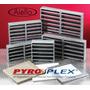 Rejillas De Aire Corta Fuego Pyroplex 150x150mm Rf 30 / 60