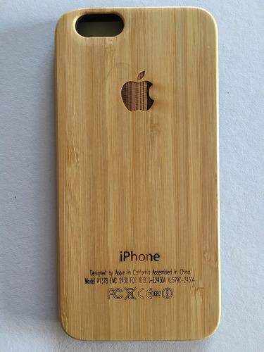 59116b96abe Funda Carcasa Madera iPhone 6 Plus Y 6s Plus - $ 499 en Melinterest