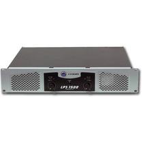 Potencias Crown De La Serie Lps 1500 400w En 4 Ohms Stereo