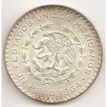 Mexico, Peso, 1964. Plata Baja. Sin Circular