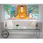 Cuadros Modernos En Triptico O Diptico Budismo Y Mandalas