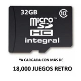 Micro Sd 32 Gb Class 10 Recalbox 20 Mil Roms Raspberry Pi 3