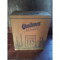 6 Botellas Quilmes Edición Limitada 115 Aniversario En Caja