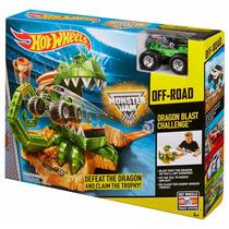 Pista Hot Wheels Off Road Dragon Blaster Challenge Original