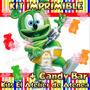 Kit Imprimible Osito Gominola Candy Bar Invitaciones 2x1