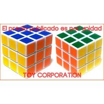Cubo Mágico Rotación De Competición Brains Toys 3 X Ingenio