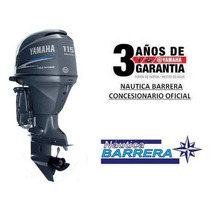 Motor Yamaha 115 Hp 4t Efi. Entrega Ya. Ver Oferta Contado