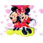 Individuales Posa Vasos Infantil Mickey Mouse Super Original