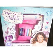 Violetta Remera Para Pintar Fancy Shirt Cn Remera Y Pinturas