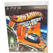 Hot Wheels Worlds Best Driver. Ps3 Fisico - Minijuegosnet