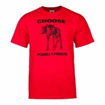 Powell Peralta T-shirt Choose, Roja - Talle Xxl