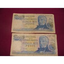 Billetes Antiguos Argentinos Los Dos Billetes $ 300