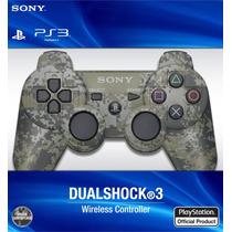 Joystick Ps3 Sony Original Camuflado Urbano Combate Envios