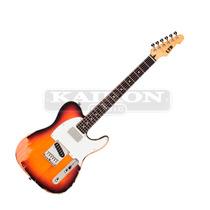 Guitarra Ltd By Esp Te202 3 Tone Burst Distressed - Usado -