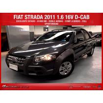Fiat Strada 2011 Doble Cabina Adveture 1.6 16v Nafta Full