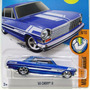 2016 Hot Wheels Chevy 63 Ii Como El Chevrolet 400 Azul