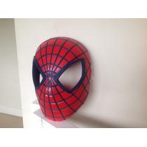 Mascara Hombre Araña - Importada - Rigida - Poco Uso