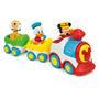 Tren Musical Baby Mickey Disney Con Luces Y Sonidos Original