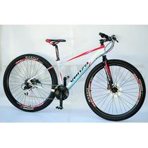Bicicleta Mtb Venzo Vulcan Rodado 29 -24 Velocidades Discos