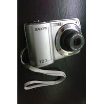Cámara Sanyo S122 12.1 Mp Funcionando (detalle En El Lcd)