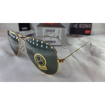 Anteojos Ray Ban Rb 3025 Aviator Large Metal L0205 3n 40%0ff