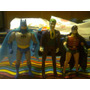 Lote X 3 Muñeco Super Amigos Powers Batman Robin Joker Retr