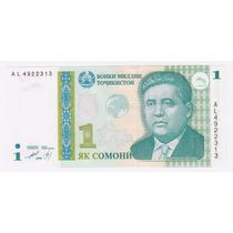 Tayikistan Billete De 1 Somoni Sin Circular - 1999 -