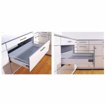 Cajón C/telesc. Soft De 500 Mm Mueble Cocina Placard X 6 Un.