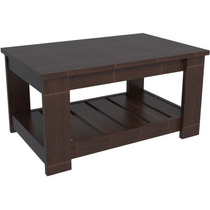 Mesa Centro Tables Rectangular Caoba Mod.2002
