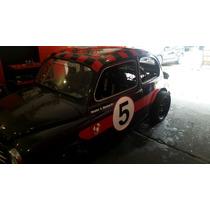 Fiat 600 Fanny Car Turbo 1/4 De Milla