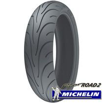 Cubierta Michelin Pilot Road 2 180/55-17 190/50-17 Stanley