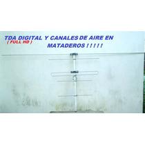Antena Para Canales Analogicos De Aire Y Para Tda Hd Digital