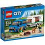 Lego City Van Caravan Zap 60117