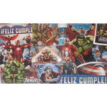 Cotillón Completo Cumple Avengers Vengadores 20 Chicos